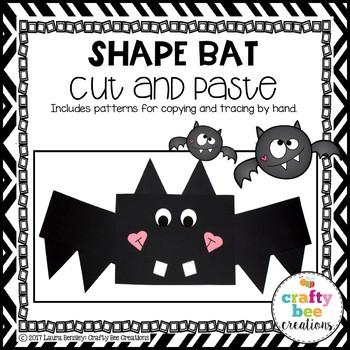 Shape Bat Cut and Paste