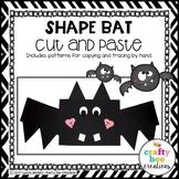 Bat Craft {Shape Bat}
