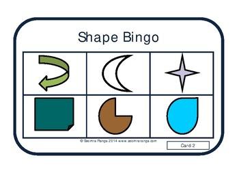 Shape Bingo 03