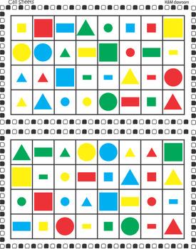 Shape Bingo