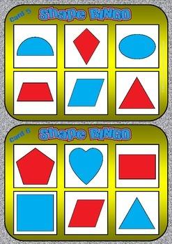 Shape Bingo - FREE
