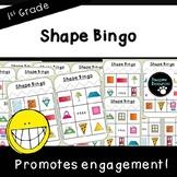 Shape Bingo (First Grade, 1.G.1)