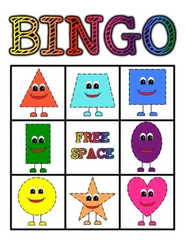 Shape Bingo Game