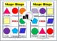 2D Shapes Bingo Game