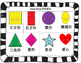Mandarin Chinese Shape Bingo & Shape and Color Bingo 形状宾果游戏