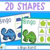 Shape Bingo - identifying 2D shapes