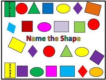 Shape Board Game
