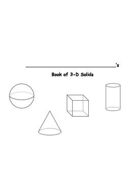 Shape Book (3D Shapes)