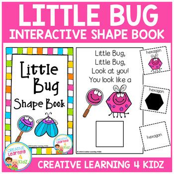 Bug Shape Book
