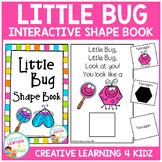 Little Bug Interactive Shape Book