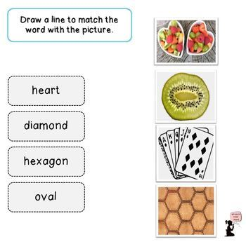 Shape Book, Flash Cards, & Related Activities