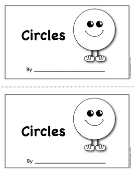 Shape Book:  Circles