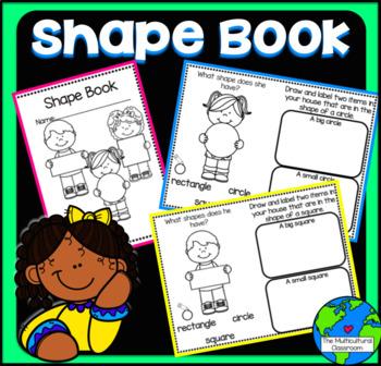 Shape Book Copy N Go Common Core Aligned