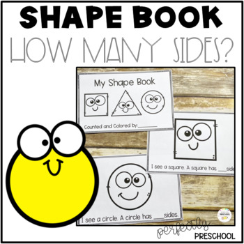 Shape Book: How Many Sides? {Dollar Deal}
