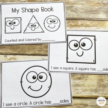 Shape Book: How Many Sides?