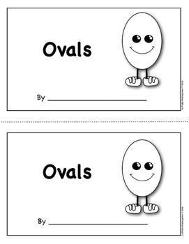 Shape Book:  Ovals
