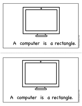 Shape Book:  Rectangles