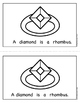 Shape Book:  Rhombus
