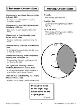 Shape Book - The Moon