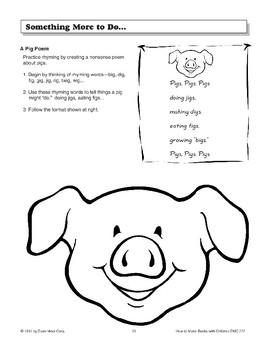 Shape Book - The Pig