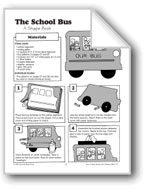 Shape Book - The School Bus
