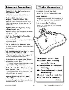 Shape Book - The Shoe
