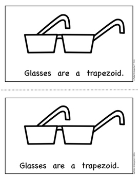 Shape Book:  Trapezoids