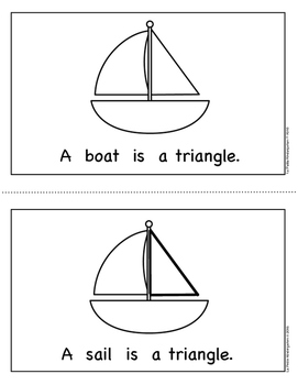 Shape Book:  Triangles