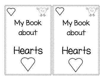 Shape Book about Hearts