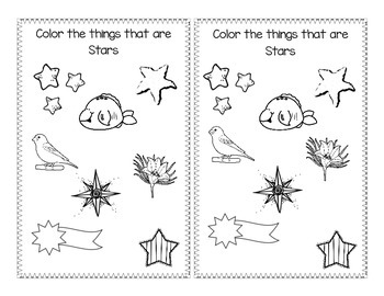 Shape Book about Stars