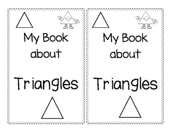 Shape Book about Triangles