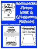 Shape Book and Classroom Poster Set