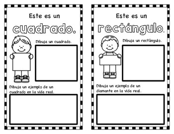 Shape Book in Spanish