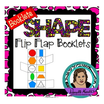 Shape Booklet - Easy Flip Flap Booklets for Practicing Shapes