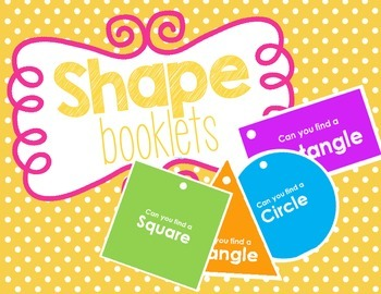 Shape Books - Learning and Recognizing Basic Shapes