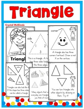 Shape Books for Young Learners (2-D Shapes)