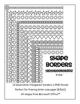 Shape Border Compilation
