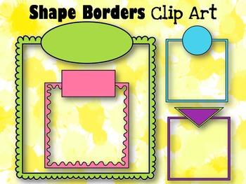Shape Borders Clip Art