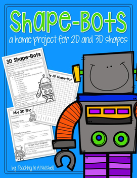 Shape-Bots: A 2D and 3D Geometry Project