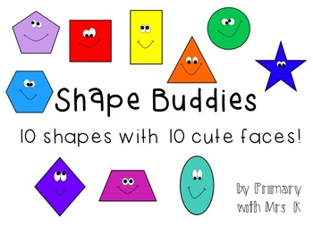 Shape Buddies Clip Art
