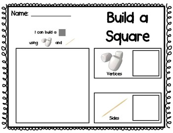 photograph regarding Building With Toothpicks and Marshmallows Printable called Marshmallows And Toothpicks Worksheets Schooling Components