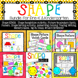 Shape Bundle - Preschool & Kindergarten Resource for Shape Recognition