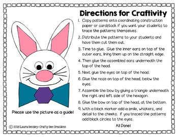 Bunny Craft {Shape Bunny}