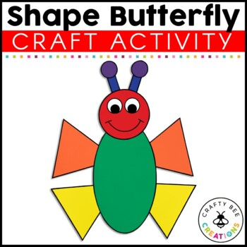 Shape Butterfly Cut and Paste