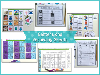 Shape By Shape {Hands-On Activities with 2D and 3D Shapes}