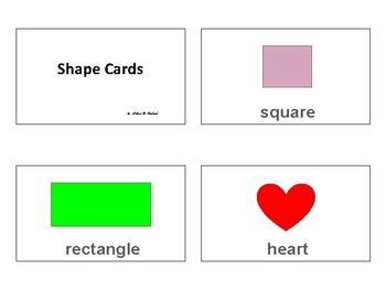 Shape Cards