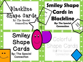 Shape Cards: Colorful Edition Bundle