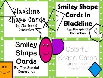 Shape Cards: Colorful Edition Bundle