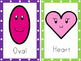 Shape Cards: Colorful Smiley Edition