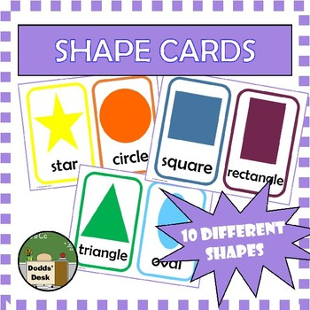 Shape Cards for Math